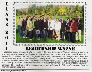 Leadership Wayne Class of 2011